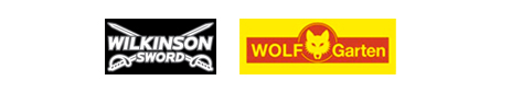 Wilkinson Sword and Wolf brand logos